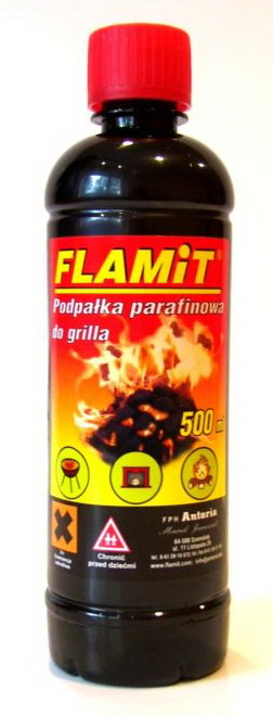 FLAMiT - podpałka parafinowa do grilla 0,5l